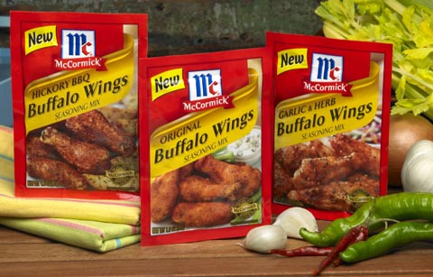 McCormick Chicken Wing Seasonings