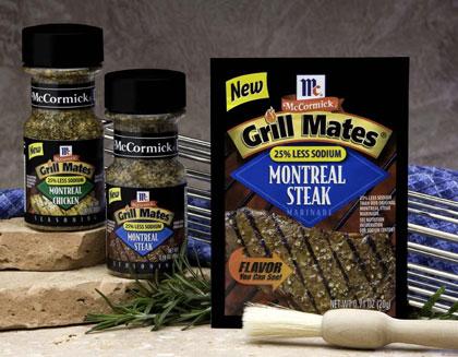 McCormick Low Sodium Grill Mates Seasonings