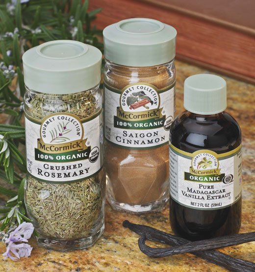 McCormick Organic Spices and Herbs