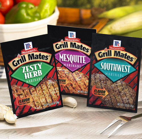 Grill Mates Seasoning Packets